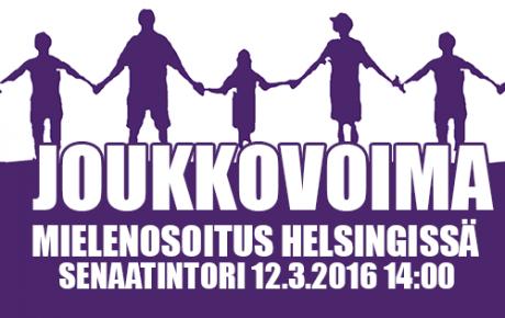Mielenosoitusten viikko huipentuu huomenna – myös kulttuurialan edustajia mukana mielenosoituksessa