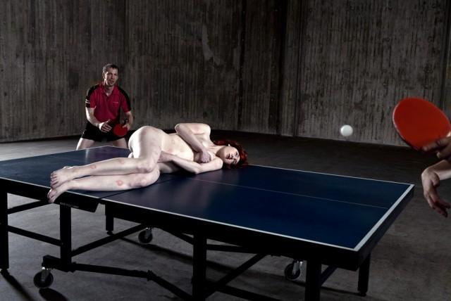 Heinon taidesäätiön kokoelmaan kuuluu mm. Adel Abidinin teos Ping Pong (2009).