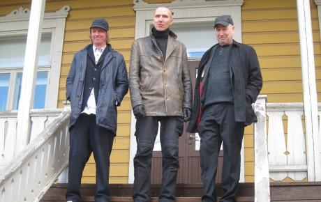 Utøyan muistomerkkikilpailun voittaja Jonas Dahlberg mukana Vaalimaan taidekilpailussa