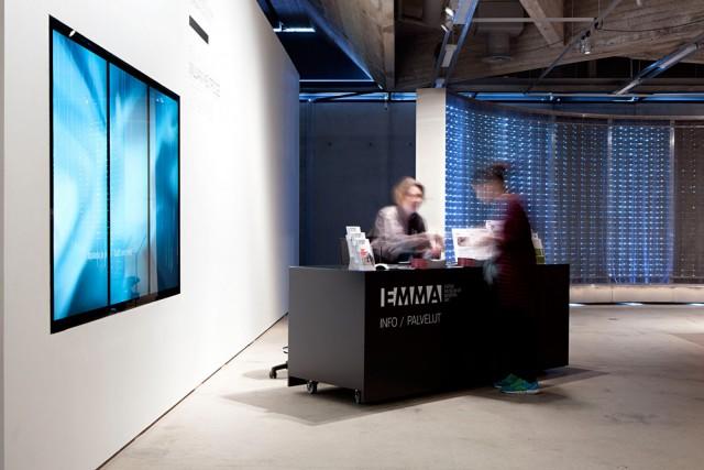 Taidemuseo EMMA järjestää nuorille turvapaikanhakijoille Kuva: Ella Tommila / EMMA