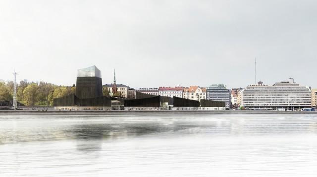Guggenheim Helsinki -arkkitehtuurikilpailun voittanut työ Art in the City. © Moreau Kusunoki. Kuva: Guggenheim