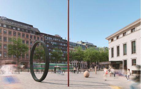 Helsinki hyväksyi taidelahjoituksen – ruotsalaisen Eva Langen veistos tulee Erottajalle