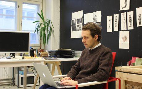 Ateljeet toivat Åström-stipendiaateille väljyyttä tehdä ja kokeilla
