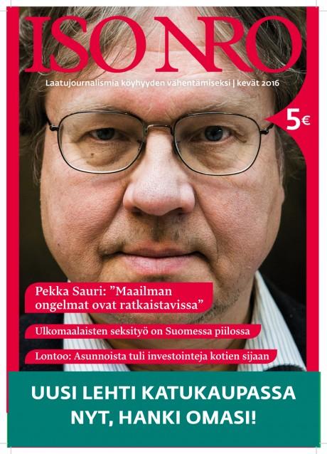 Suurimman kulttuurilehtituen sai Kultti ry, joka julkaisee Iso Numero -lehteä.