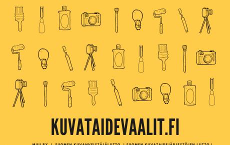 Kuvataidevaalit-sivusto kartoittaa ehdokkaiden taidepoliittisia näkemyksiä