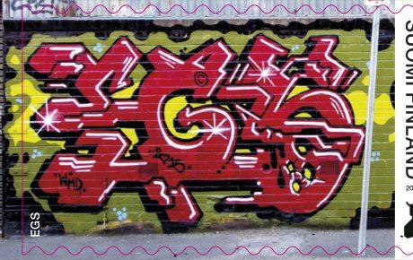 Postin taidepalkinto myönnetään graffititaiteilija EGS:lle