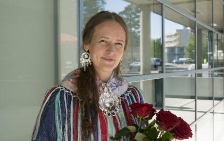 Outi Pieski sai Suomen Taideakatemian palkinnon