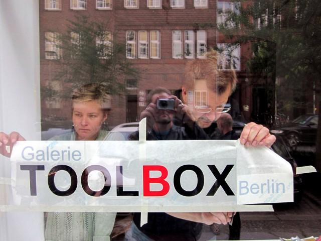 Toolbox muuttu Kolonie Weddingiin viime keväänä. Mika Karhu kuvassa oikealla.