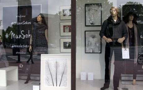 Joensuun taiteilijaseuralle pysyvä näyttely tavarataloon