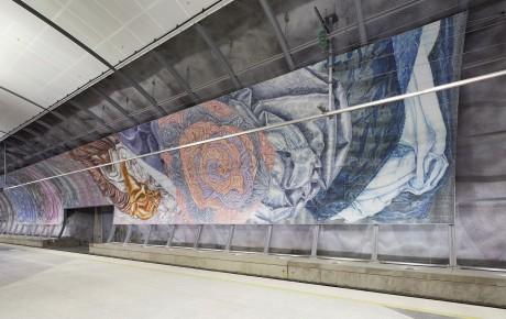 Kehäradan taide on vuoden ympäristötaidekohde