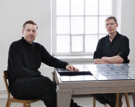 IC-98, Visa Suonpää ja Patrik Söderlund (vas.) Kuva Hertta Kiiski.