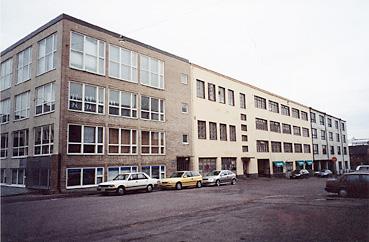 Vallilan ateljeetalo Helsingissä.